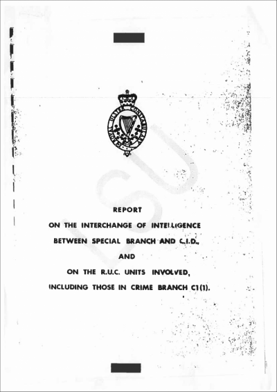 Cover of the 1980 Walker Report